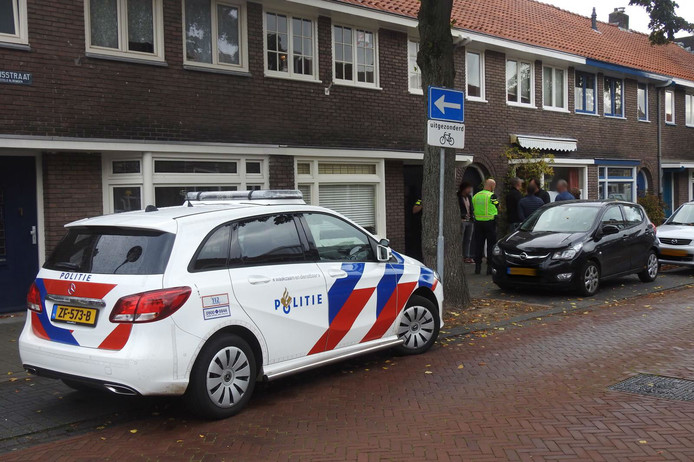 Woningoverval in Eindhoven.