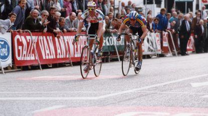 25 jaar geleden Cipollini is voor iedereen te sterk