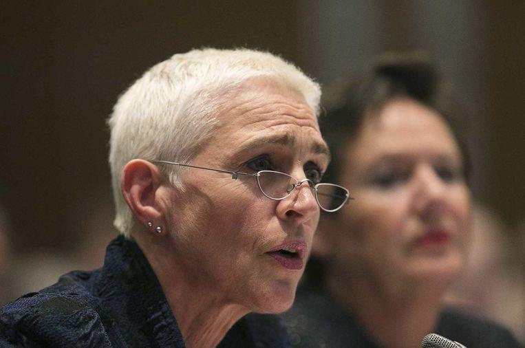 Staatssecretaris Wilma Mansveld. Beeld reuters
