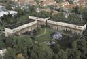 Artist impression van de twintig huizen die samen het Van Lieflandpark gaan vormen.