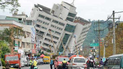 Hevige aardbeving veroorzaakt instorting van gebouwen op Taiwan: 4 doden, veel vermisten en 243 gewonden