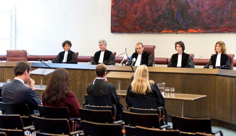 De Hoge Raad doet uitspraak in de zaak tegen de pedofielenvereniging Martijn.  Beeld ANP