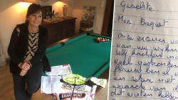 """""""Sorry, wij hadden te veel gedronken"""": gestolen wielertruitje is terug bij weduwe Serge Baguet"""