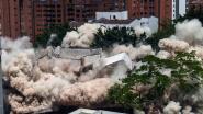 VIDEO. Huis van drugsbaron Escobar live op Colombiaanse televisie tot ontploffing gebracht