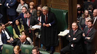 'Speaker' Bercow geeft geen toestemming voor stemming over Johnsons brexitdeal