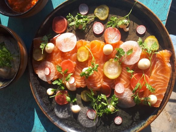 Stoned Salmon