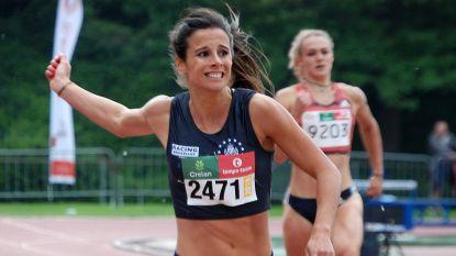 Camille Laus loopt EK-limiet en breekt ei zo na Belgisch record op 400 meter