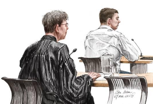 Het Openbaar Ministerie eiste twintig jaar gevangenisstraf tegen een 47-jarige man uit Wateringen.