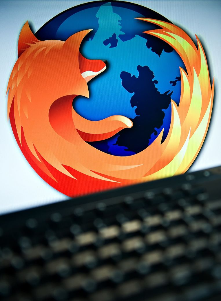 Volgens de directeur van Mozilla, de stichting achter Firefox wordt Firefox elk jaar honderd miljard keer gebruikt om iets te vinden op het internet. Beeld afp