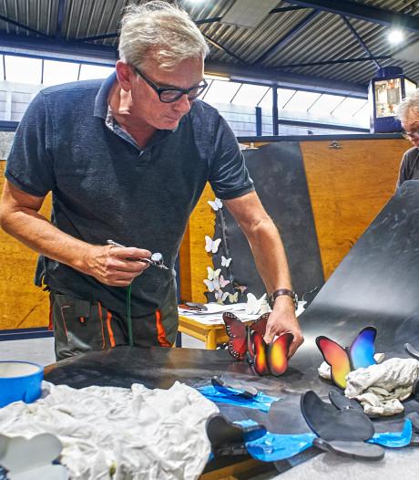 Ontwerper Sjef Hoogstede wil met één beeld alle verdriet en hoop na het spoordrama in Oss een plek geven