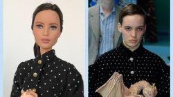Antwerpse kleedt Barbies in designerlooks