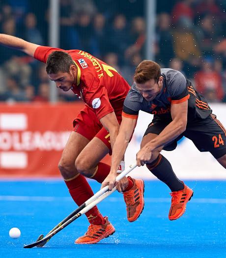 Hockeyers verspelen ruime voorsprong tegen Spanje