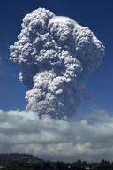 Luchtvaartmaatschappijen zijn gewaarschuwd voor de vulkanische as