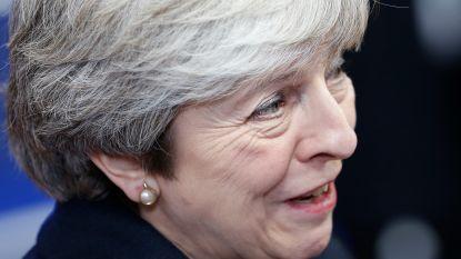 """Theresa May heeft vertrouwen in de brexit: """"Niets kan de regering doen ontsporen"""""""