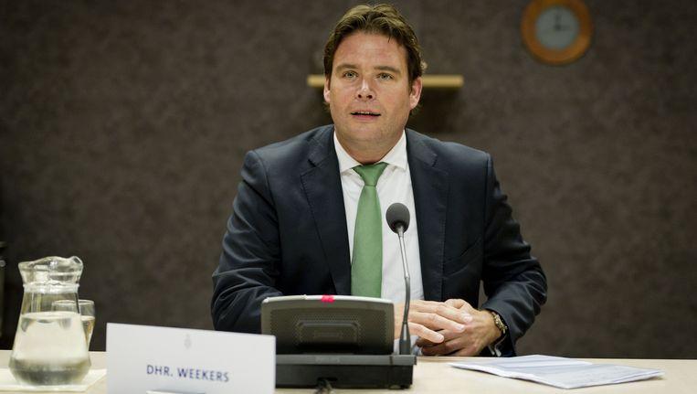 Staatssecretaris Frans Weekers (Financien). Beeld ANP