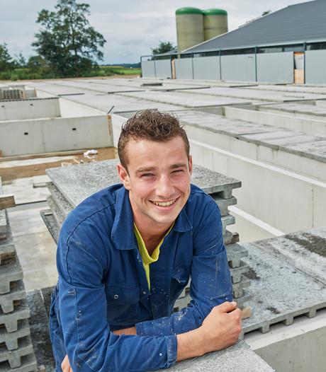 Jonge boer bouwt in Odiliapeel: 'Mensen zullen vlees blijven eten'