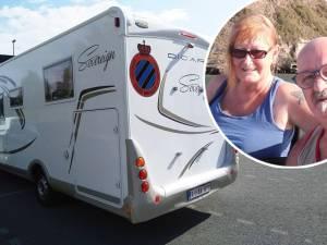 """Les touristes belges ont retrouvé leur mobil-home volé en Italie: """"Les autocollants de Bruges ont été retirés"""""""
