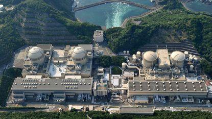 Japan ontmantelt drie oude kernreactoren