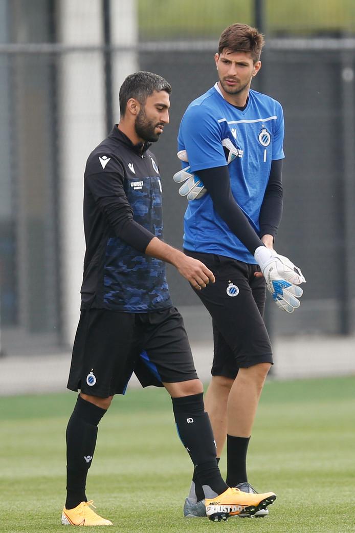 Kaveh Rezaei et Karlo Letica