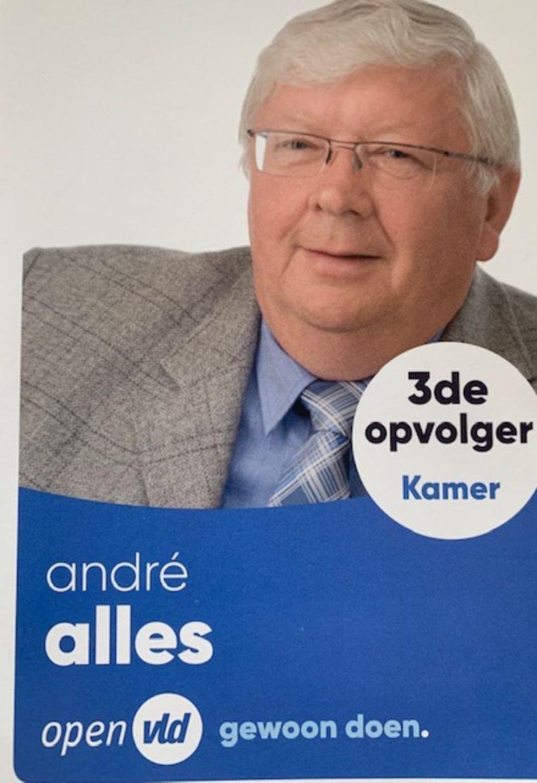 André Alles stelt zich kandidaat voor de komende verkiezingen.