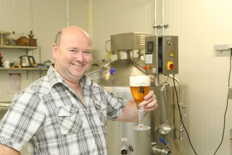 Franky Buvens van de gelijknamige brouwerij in Webbekom.