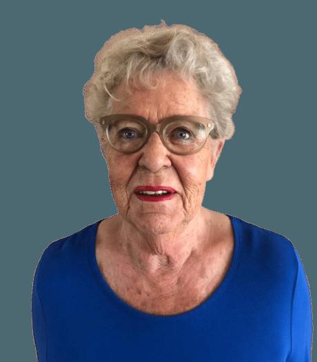 Met haar zwarte humor trad Nanda de dood tegemoet: 'Ik kom afscheid nemen, want ik verhuis naar de begraafplaats'