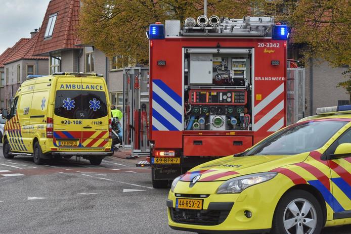 Meerdere gewonden na botsing in Sprundel