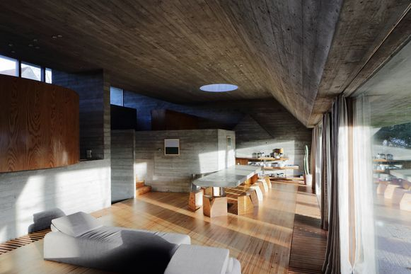 Woning Van Wassenhove van architect Juliaan Lampens.