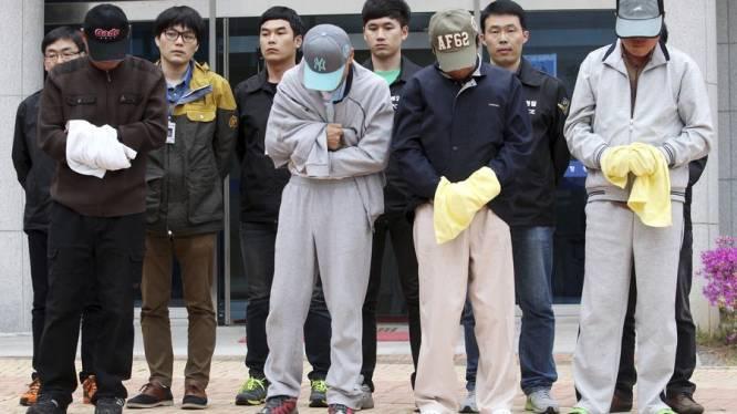 Alle leidinggevende bemanningsleden van gezonken ferry in de cel