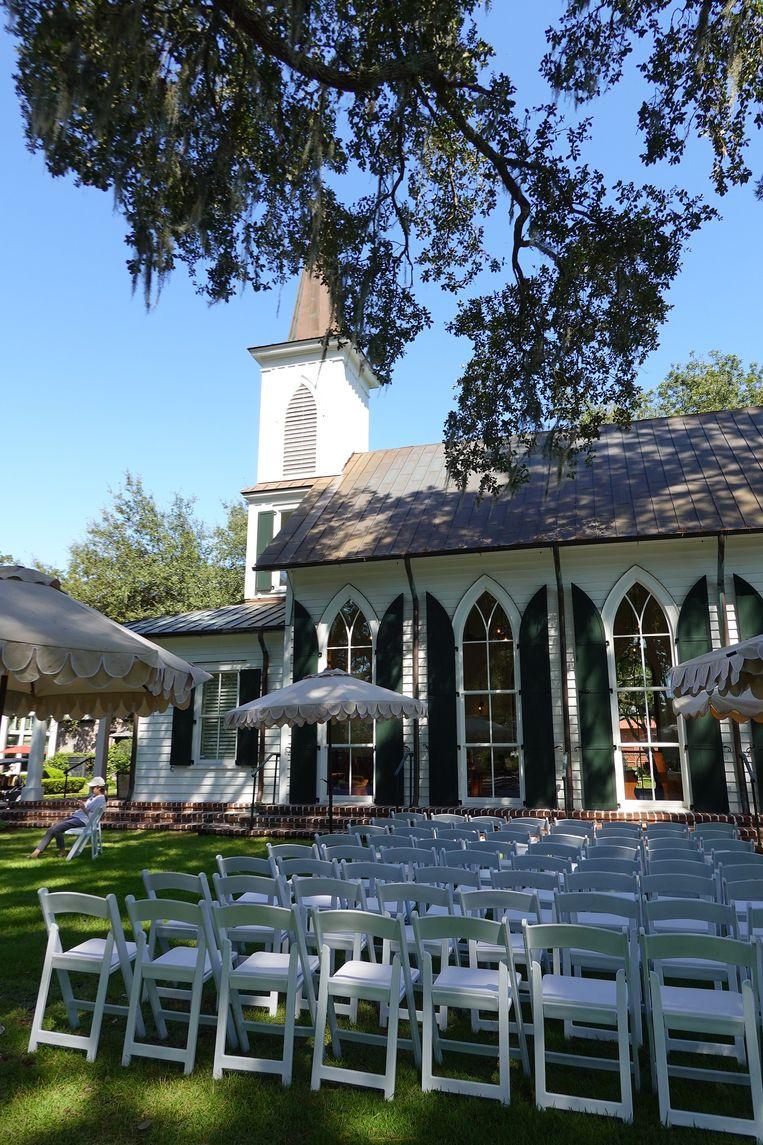 Een pittoresk kerkje mag niet ontbreken