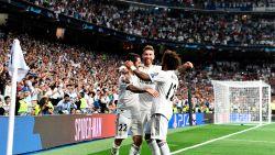 Bankzitter Courtois ziet hoe Navas de nul houdt en Real Madrid de maat neemt van AS Roma