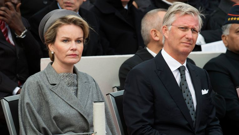 Koningin Mathilde en Koning Filip