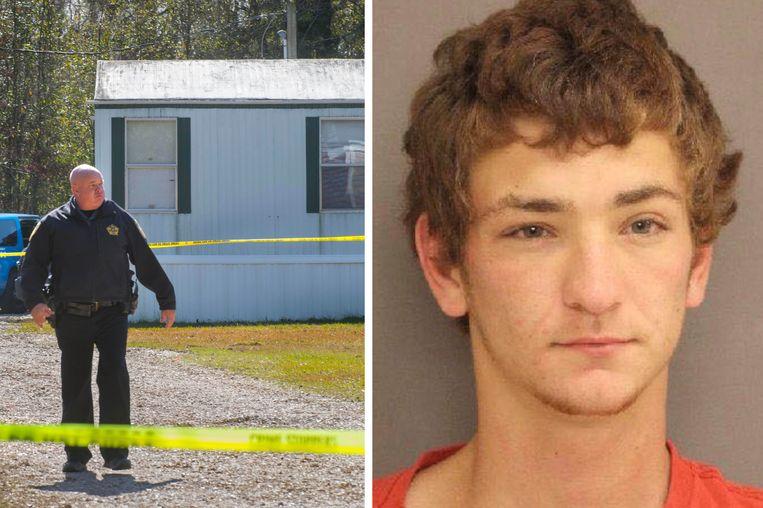 De 21-jarige Dakota Theriot wordt verdacht van moord, illegaal gebruik van wapens en inbraak.