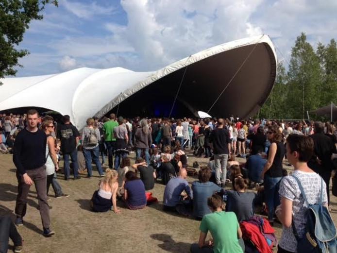 Black Mountain speelde in 2015 de tent leeg. Bezoekers kozen toen liever voor de zon.