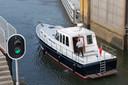 De Lorentz- en Stevinsluizen bij de Afsluitdijk