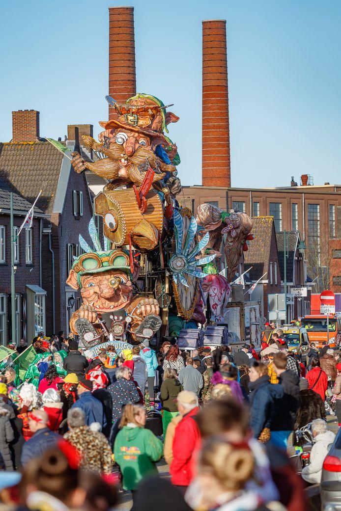 Zevenbergen - 5-3-2019 - Foto: Pix4Profs/Marcel Otterspeer - De grote optocht van ut Zeuvebultelaand.