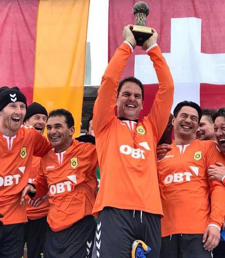 Martijn Meerdink wereldkampioen 'sneeuwvoetbal'