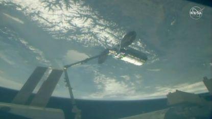 Commerciële ruimtecargo bij Internationaal Ruimtestation ISS aangekomen