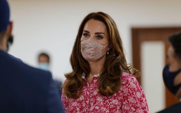 Les masques à fleurs de Kate Middleton lui ont permis de se hisser à la neuvième place d'un célèbre classement de mode.