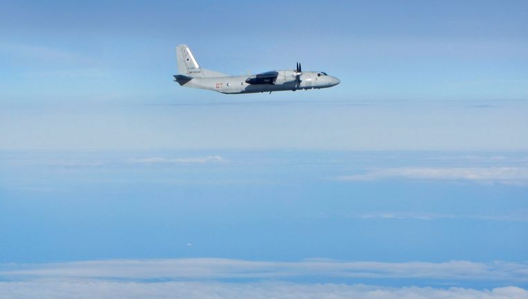 Een Antonov An-26 Beeld Reuters
