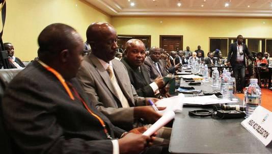 Délégation du M23 à Kampala