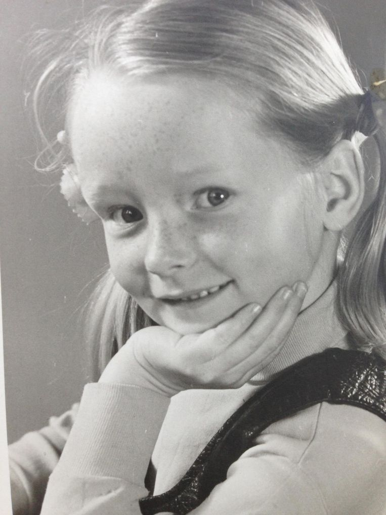 Antoinette Hertsenberg op 5-jarige leeftijd. Beeld
