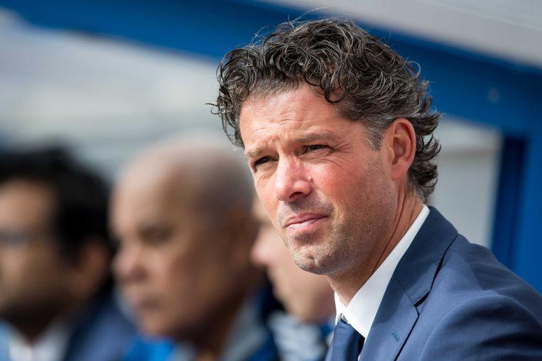 Jean-Paul de Jong is de nieuwe hoofdtrainer van FC Utrecht. Hij volgt Erik ten Hag op die overstapte naar Ajax.  Beeld ANP