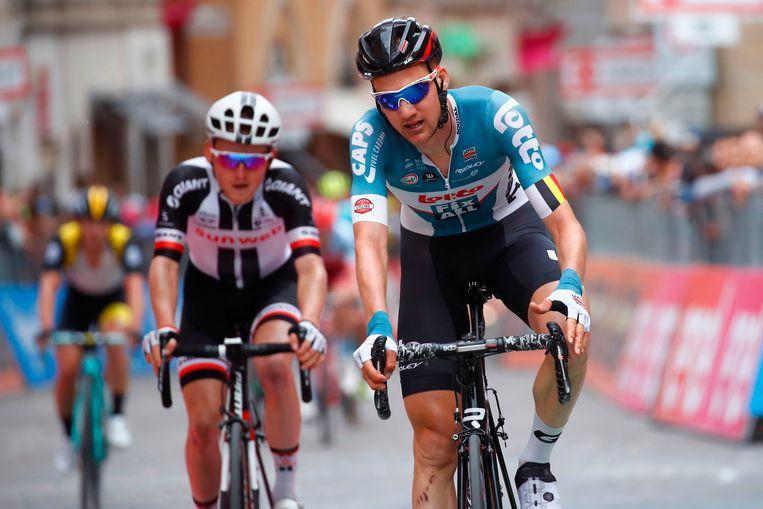Tim Wellens eindigde uiteindelijk als 16de.