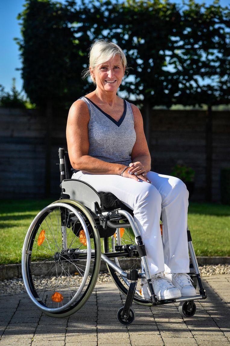 Kristel Gevaert is zelf rolstoelpatiënte.