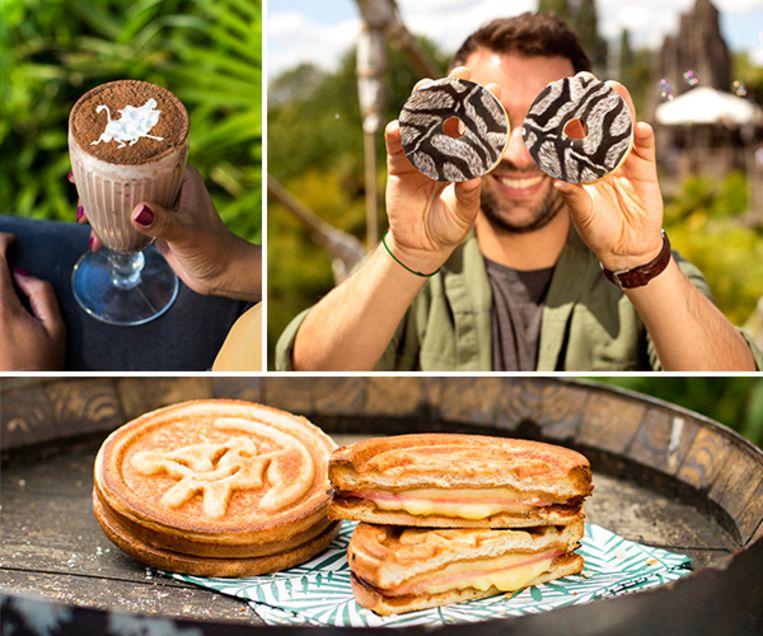 Pumbaashake, Zebralicious donuts & Pride Rock Croq