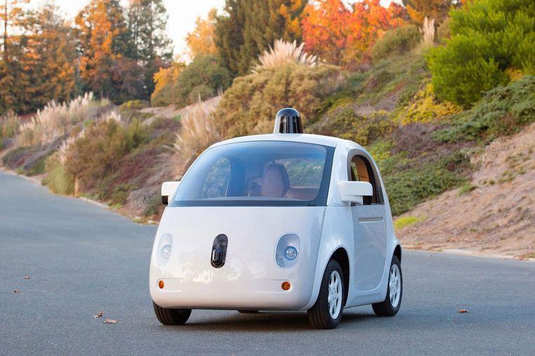 Zelfrijdende auto van Google. Beeld epa