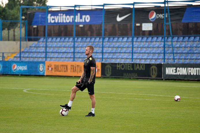 Maikel van der Werff kan donderdagavond op een basisplaats rekenen tegen FC Basel.