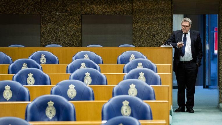 50Plus-Kamerlid Henk Krol. 50Plus is procentueel gezien de hardste daler qua ledental. Beeld anp