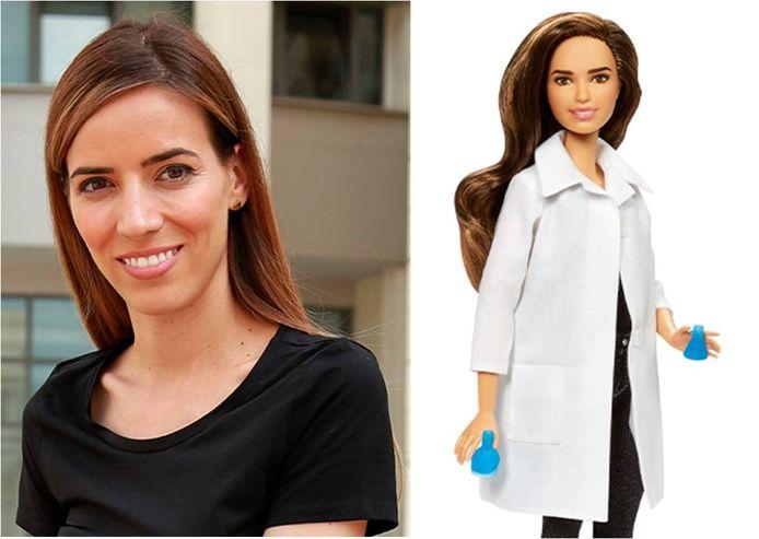 Eleni Antoniadou kreeg zelfs haar eigen Barbie.